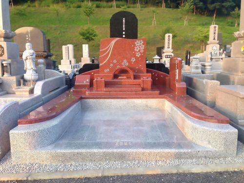 デザイン墓石 新規建立